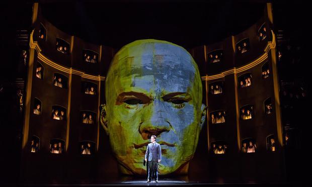 Szymanowski's 'King Roger' from the Royal Opera House, Covent Garden.