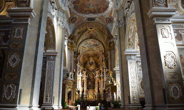 Klosterneuburg Monastery in lower Austria.