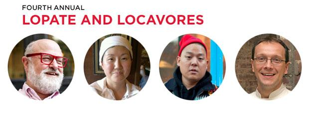 Fourth annual Lopate and Locavores