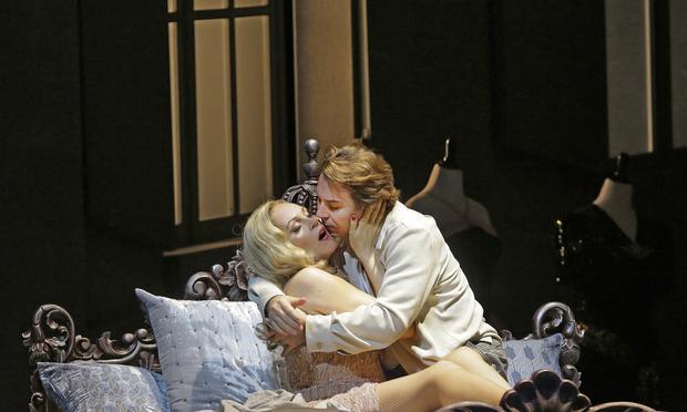 Kristine Opolais and Roberto Alagna in the Met's 'Manon Lescaut.'