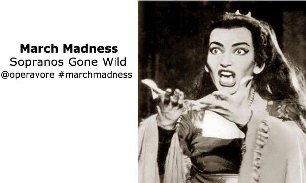 During March Madness the Operavore Stream is featuring full operas with mad scenes.