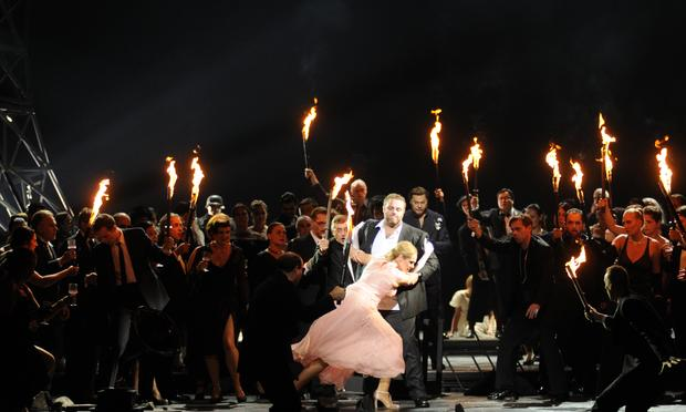 Boito's 'Mefistofele' in a production by the Bavarian State Opera from the National Theater in Munich.