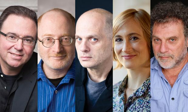 Yale School of Music Faculty: Chris Theofanidis, Aaron Jay Kernis, David Lang, Hannah Lash, and Martin Bresnick