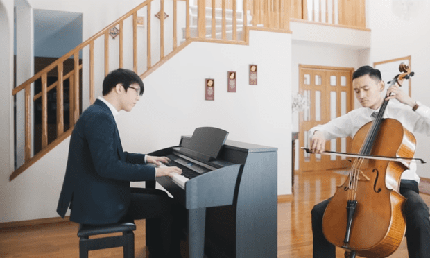 Nicholas Yee leads a beautifully simple medley of familiar tunes from Oscar contender 'La La Land'