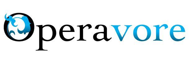 Operavore blue logo