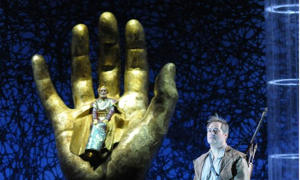 "Paul Groves as the title hero in Lyric Opera's production of Wagner's ""Parsifal."""