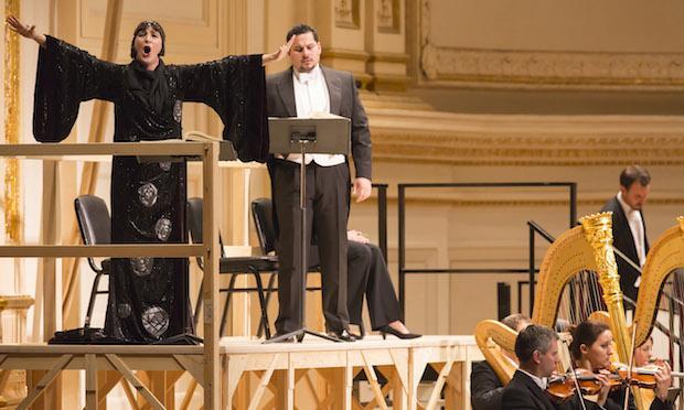 Gun-Brit Barkmin and Carlos Osuna in 'Salome,' Vienna State Opera & Vienna Philharmonic Orchestra, Carnegie Hall, 3/1/14