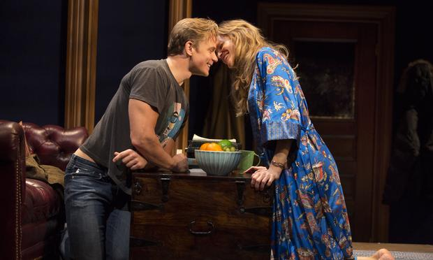 Billy Magnussen and Anna Gunn in 'Sex with Strangers.'