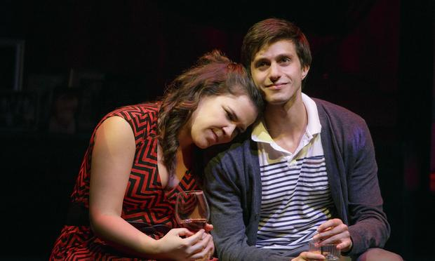 Lindsay Mendez and Gideon Glick in Joshua Harmon's new comedy 'Significant Other.'