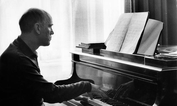 Sviatoslav Richter at the piano in 1971.