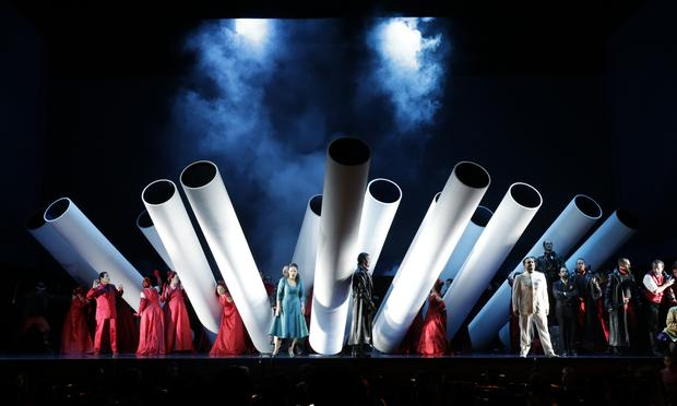 Rossini's 'The Thieving Magpie' from the 2015 Rossini Opera Festival in Italy.