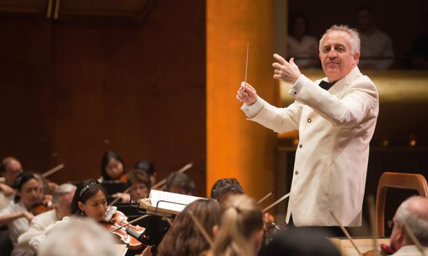 Conductor Bramwell Tovey.