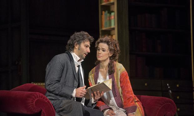 Jonas Kaufmann as Werther and Sophie Koch as Charlotte in Massenet's 'Werther'