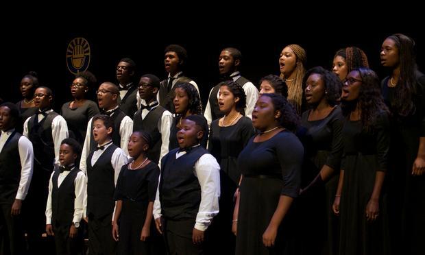 The Washington Performing Arts Children of the Gospel Choir.