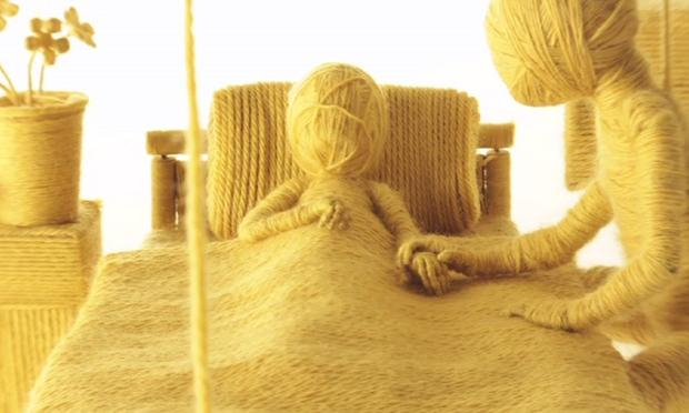 From Ainslie Henderson's stop motion video 'Moving On'