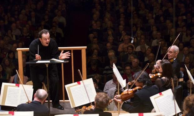 Andris Nelsons conducts the Boston Symphony Orchestra