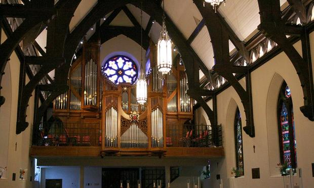 2001 Bigelow at St. Mark's Episcopal Cathedral in Salt Lake City.