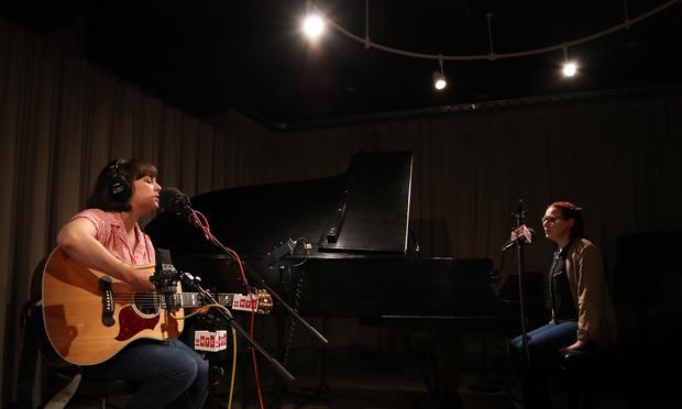 Camera Obscura performs in the Soundcheck studio.