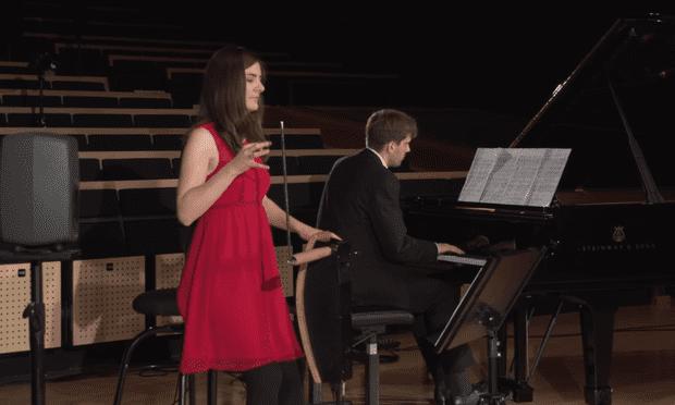 Carolina Eyck performing Rachmaninoff's Vocalise.