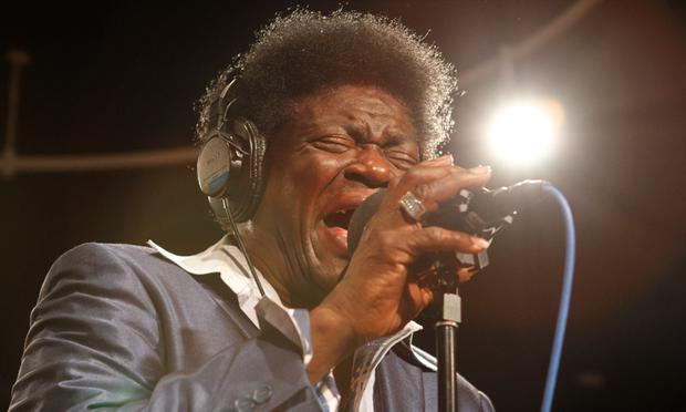 Charles Bradley performs in the Soundcheck studio.