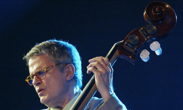Bassist Charlie Haden performs at the Vitoria-Gasteiz Jazz Festival in Vitoria, Spain on July 14, 2005. Haden died on Friday in Los Angeles.