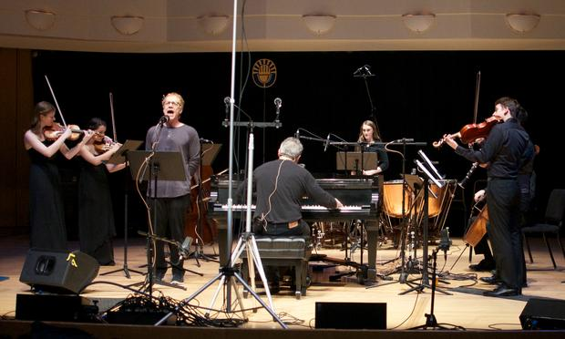 Danny Elfman, Christopher O'Riley and student musicians.