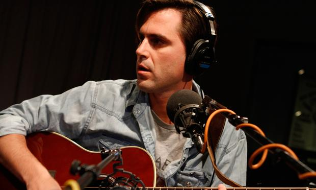 Diego Garcia performs in the Soundcheck studio.