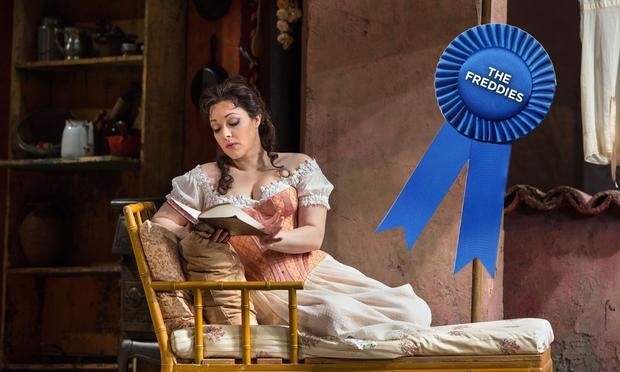 Eleonora Burrato wins a Freddie Award for her star-making performance in 'Don Pasquale' at the Metropolitan Opera