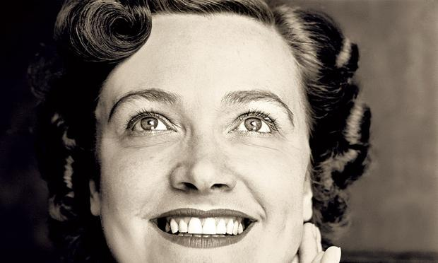 Kathleen Ferrier looking up.