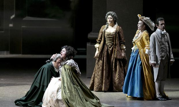 Mozart's 'The Marriage of Figaro' from the Royal Theater in Turin.