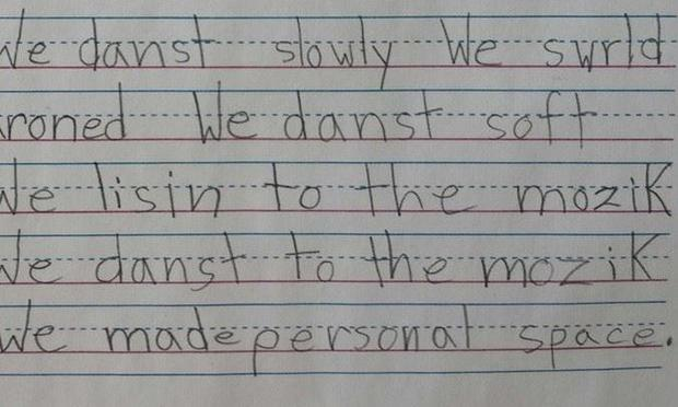 A poem for National Poetry Month by a New York City first grader (Jason Gardner)