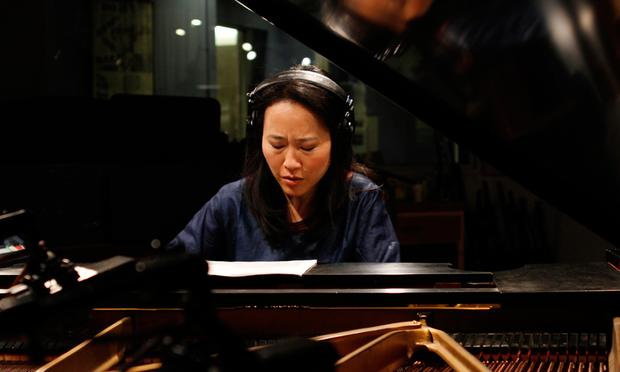 Helen Sung performs in the Soundcheck studio.