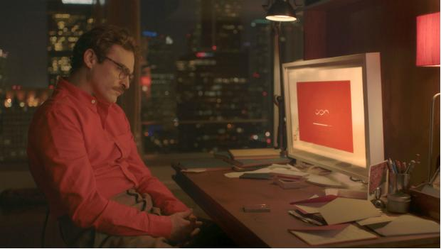 Joaquin Phoenix in Spike Jones's film 'Her'