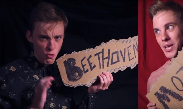 Jon Cozart, who posts to YouTube on the Paint channel, created a 'History of Classical Music' video.