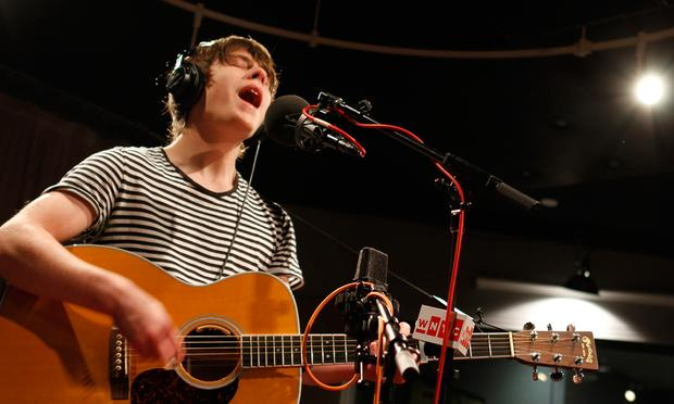 Jake Bugg performs live in the Soundcheck studio.
