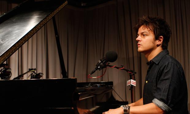 Jamie Cullum performs in the Soundcheck studio.