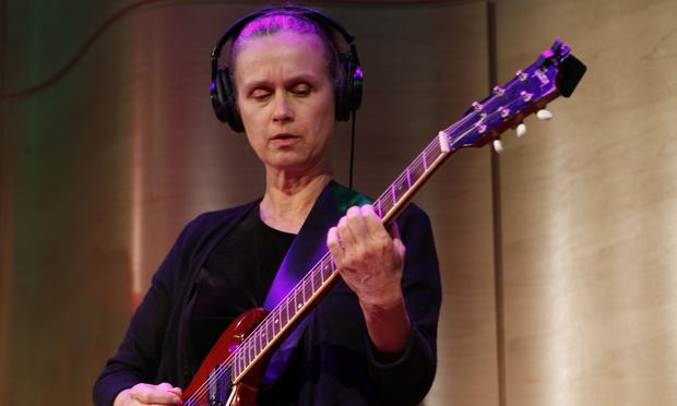 Juana Molina performs for Soundcheck and Latino USA at WNYC's Greene Space.