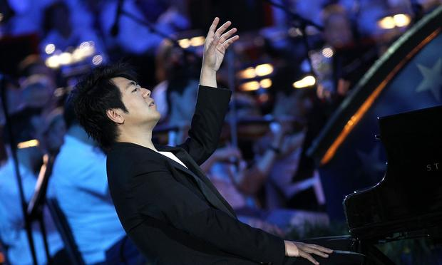 Lang Lang performs at A Capitol Fourth 2015 Independence Day Concert dress rehearsals on July 3, 2015 in Washington, DC