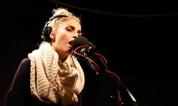 London Grammar performs in the Soundcheck studio.