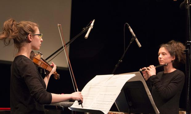 Marina Kifferstein and Natacha Diels perform Diels's 'A is for Alphabet'