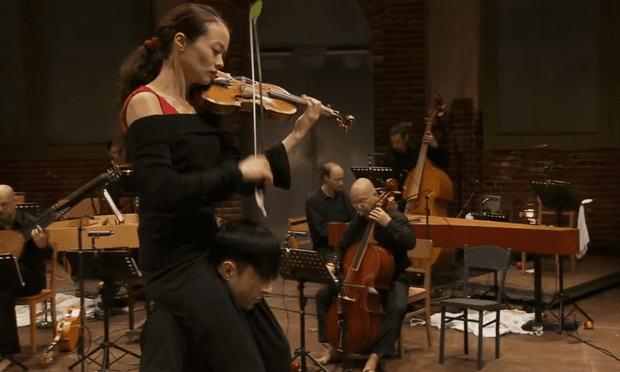 Violinist Midori Seiler in one of the more unique 'Four Seasons' performances we've seen.