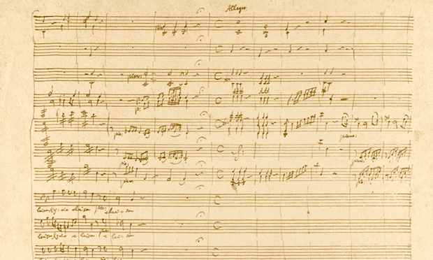 Mozart 'Kyrie' Manuscript to be auctioned at Sotheby's