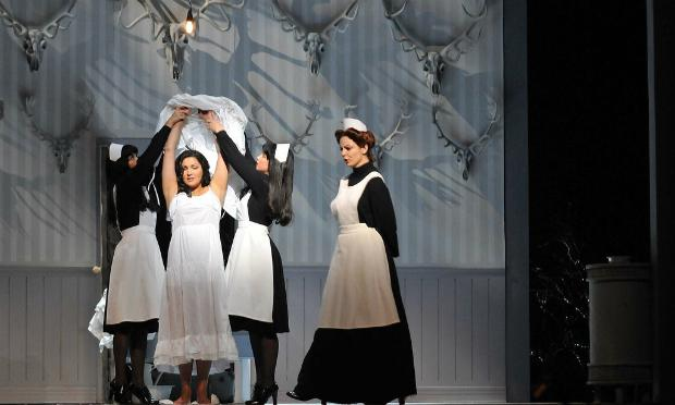 Anna Netrebko in the title role of Tchaikovsky's 'Iolanta.' The opera is to have its Met premiere on January 26, 2015.