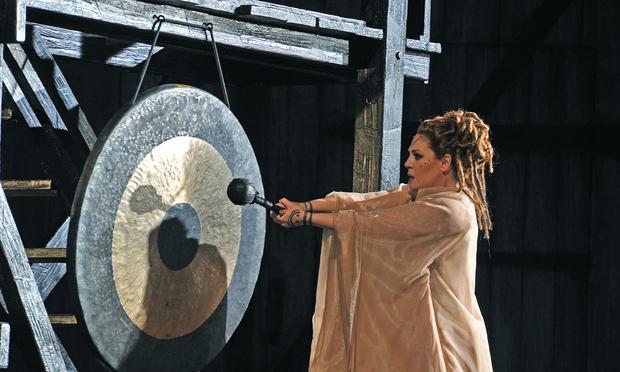 Soprano Sondra Radvanovsky stars in Bellini's 'Norma'  in a production from the Grand Liceu Theater in Barcelona.