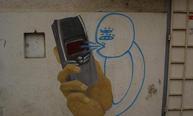telephone graffiti