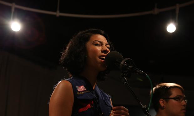 PHOX performs in the Soundcheck studio.