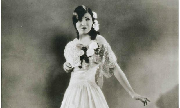 Rosa Ponselle in La Traviata