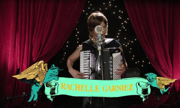 Rachelle Garniez blends whimsical songwriting with eclectic musicianship