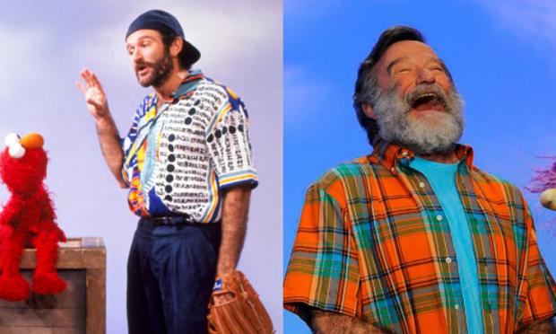 Robin Williams on Sesame Street