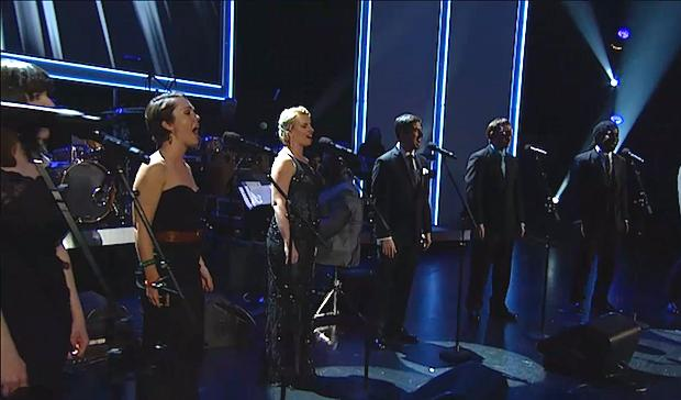 Vocal ensemble Roomful of Teeth performs at the Grammy Awards (Grammy.com)